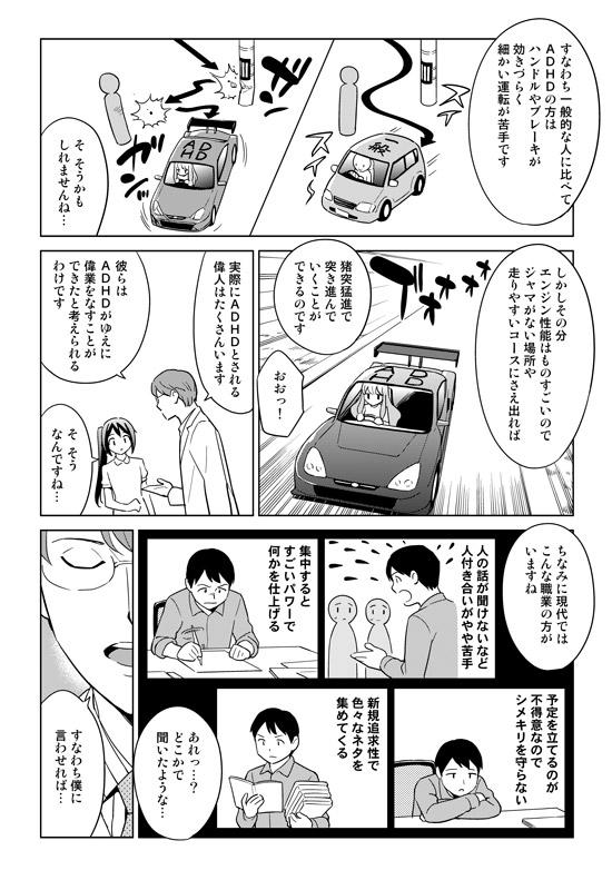 ADHD レーシングカー
